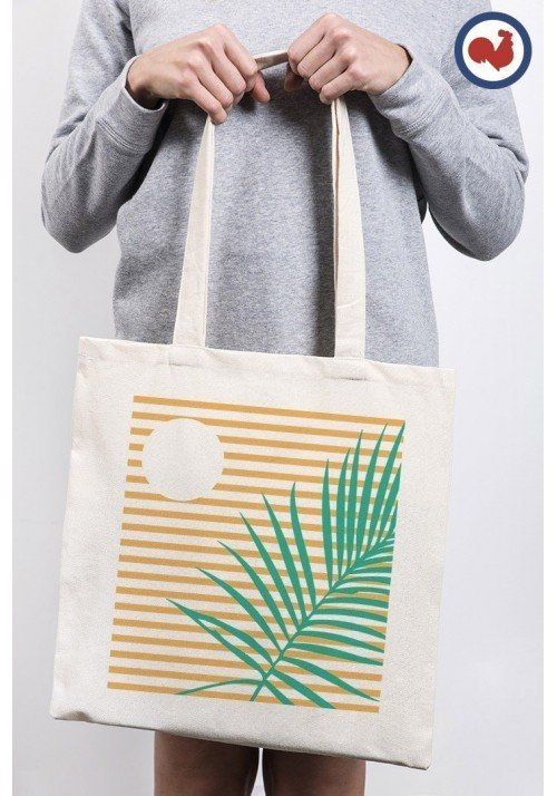 Palmier crépuscule - ToteBag Made In France