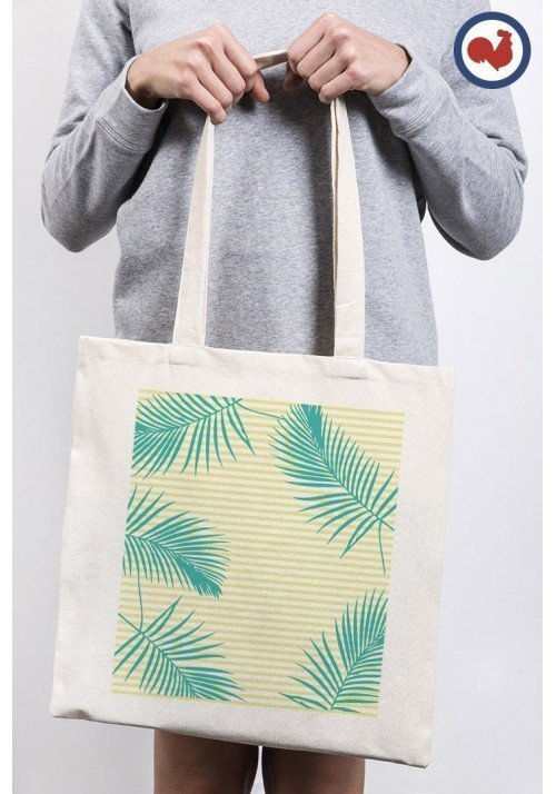 Plage et palmes - ToteBag Made In France