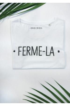 Ferme-la - Message codé - T-shirt Femme