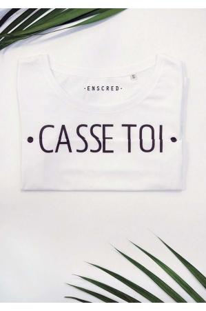 Casse toi - Message codé - T-shirt Femme