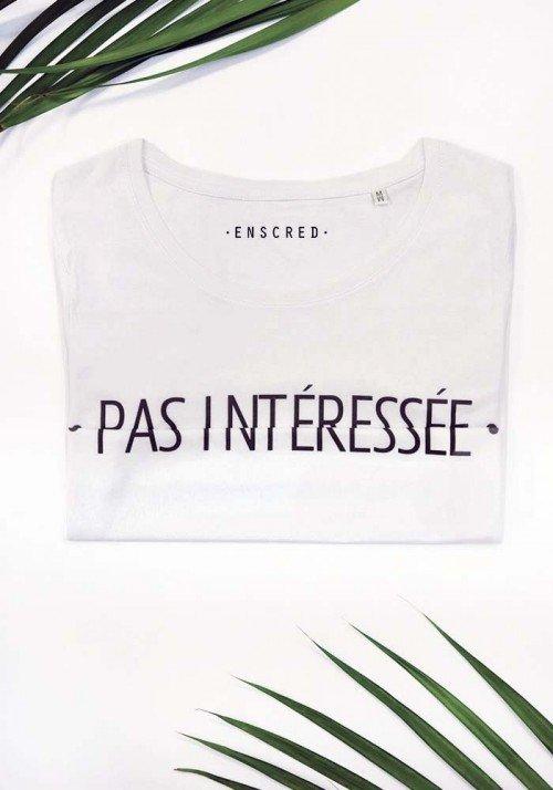 Pas intéressée - Message codé - T-shirt Femme