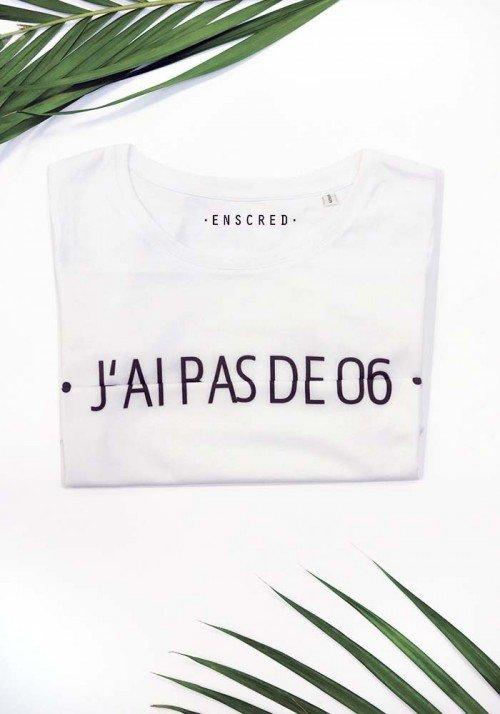 J'ai pas de 06 - Message codé - T-shirt Femme