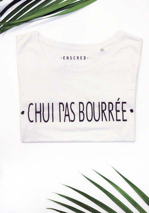CHUI PAS BOURRÉE - Message codé - T-shirt Femme