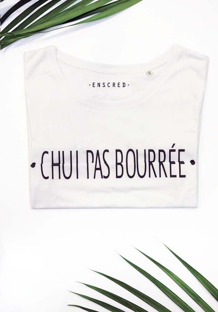 CHUI PAS BOURRÉE - Message codé - T-shirt Homme