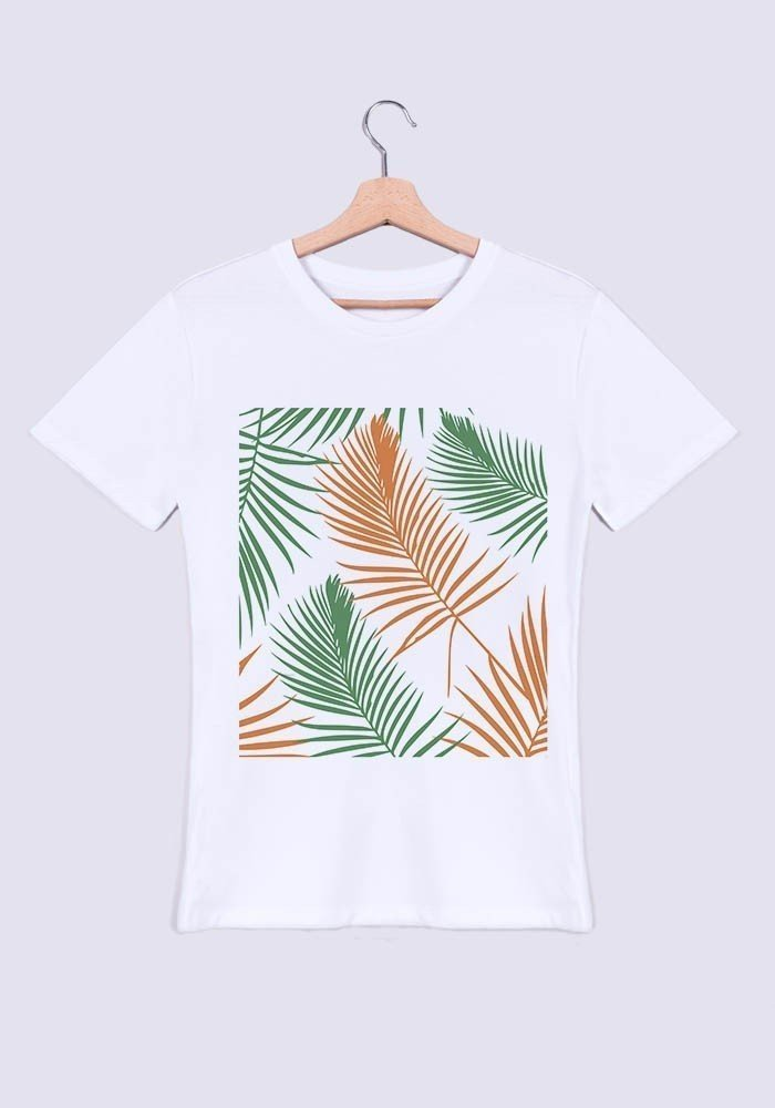 Tropical vert orange - T-shirt Homme