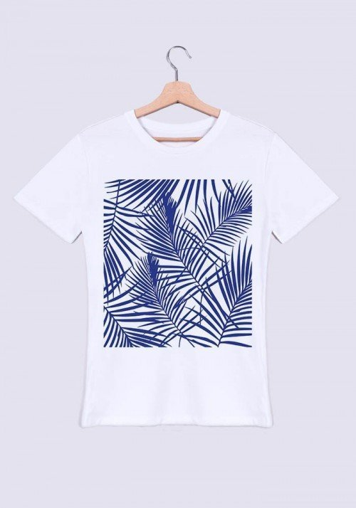 Tropical bleu - T-shirt Homme