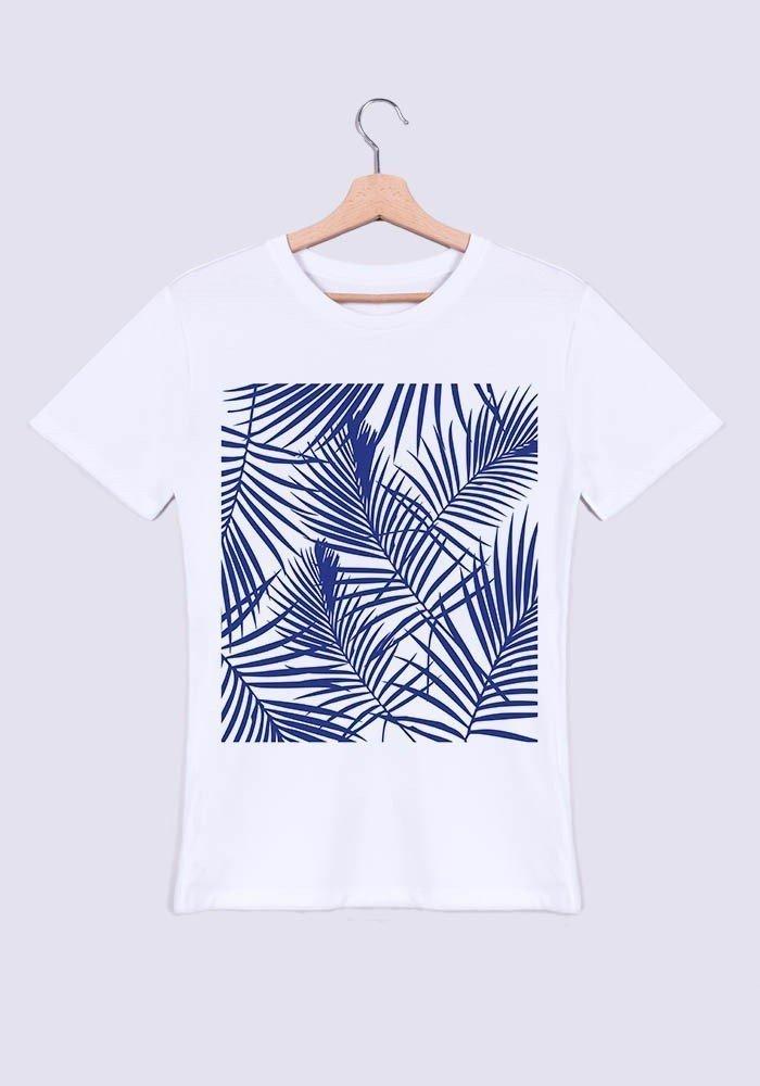 Tropical bleu - T-shirt Homme