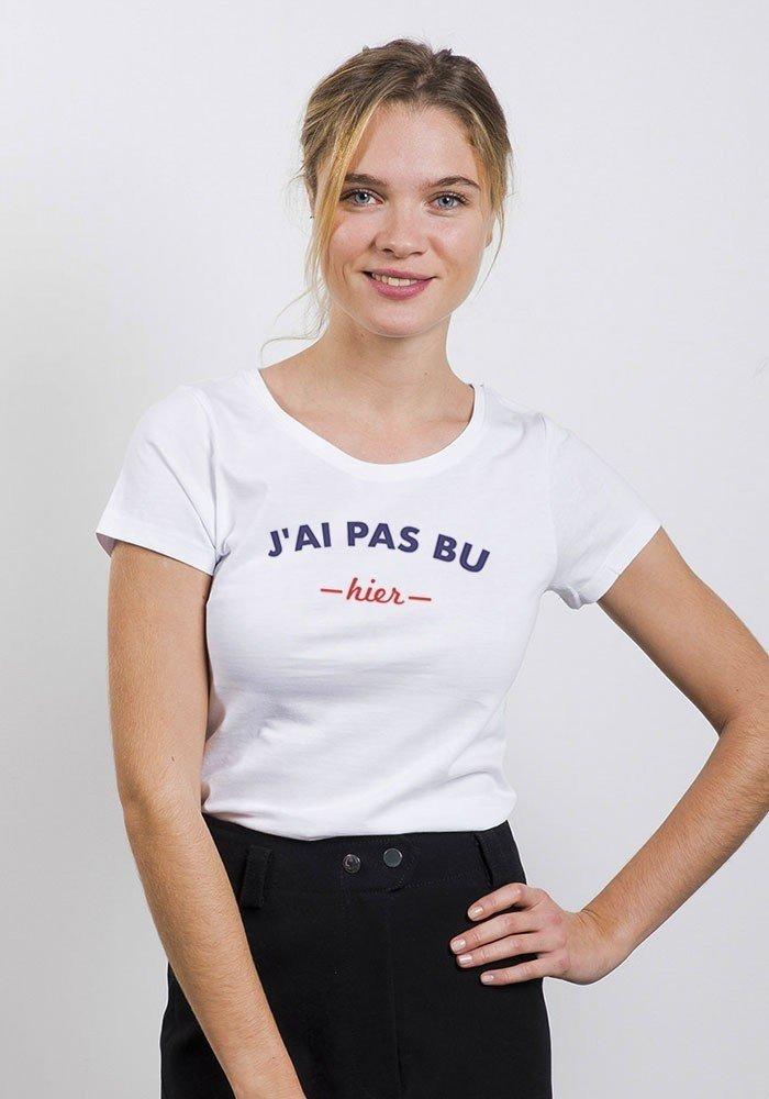 T shirt femme j 39 ai pas bu hier styley tshirt - Bon de reduction trend corner ...