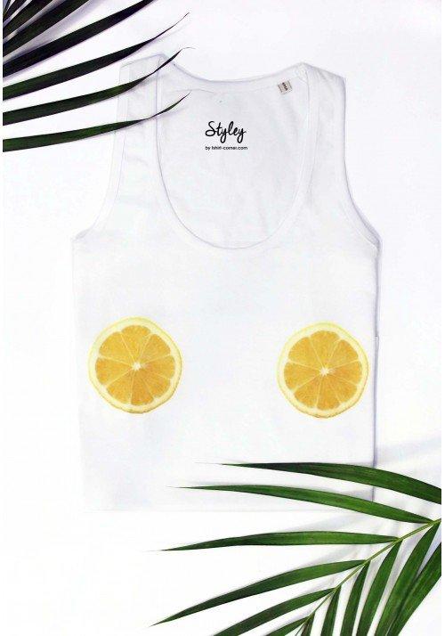 Citrons - Débardeur Femme