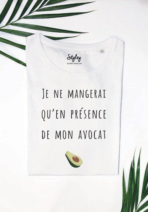 Coin endroit où on ne laisse pas bébé - T-shirt Femme