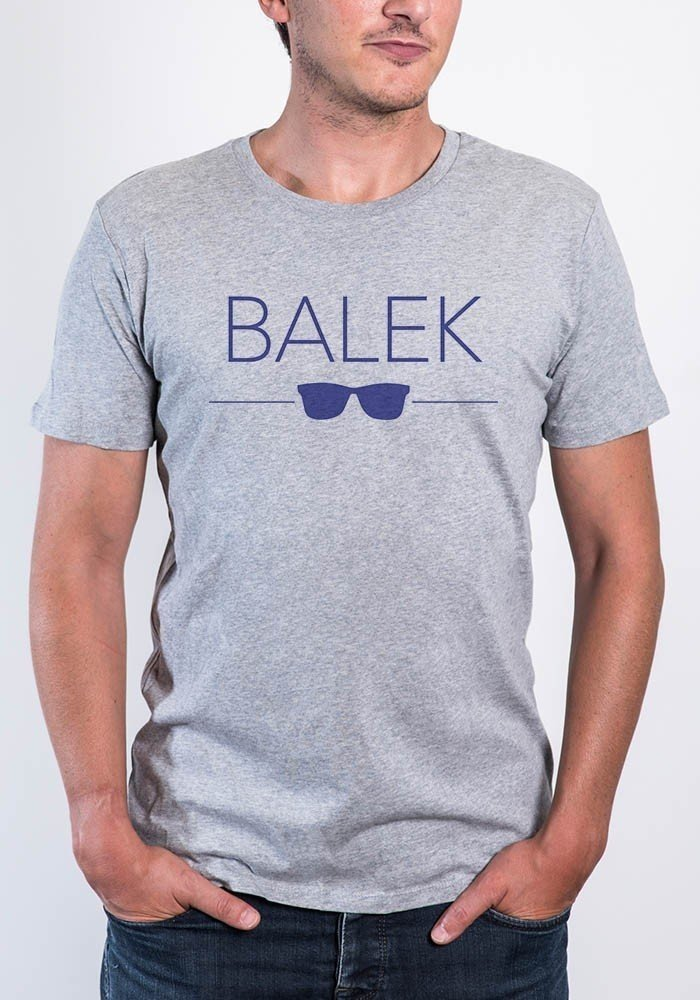 Balek T-shirt Homme Col Rond