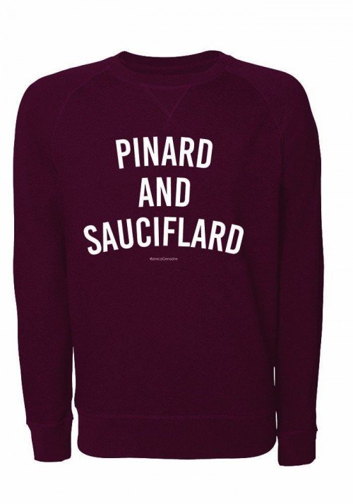 Pinard and Sauciflard - Sweat Homme Burgundy
