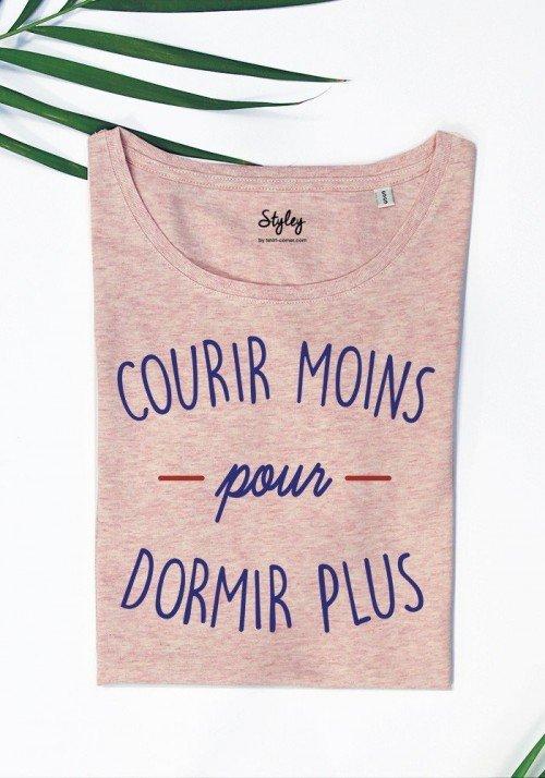courir moins pour dormir plus  - T-shirt Femme