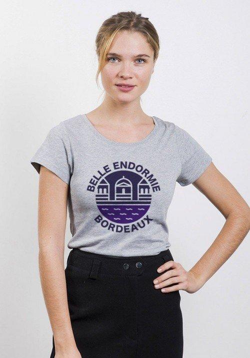 Belle endormie Bordeaux - T-shirt Femme
