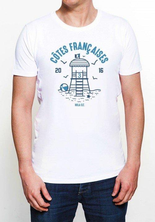 Côtes Françaises Tee-shirt Homme