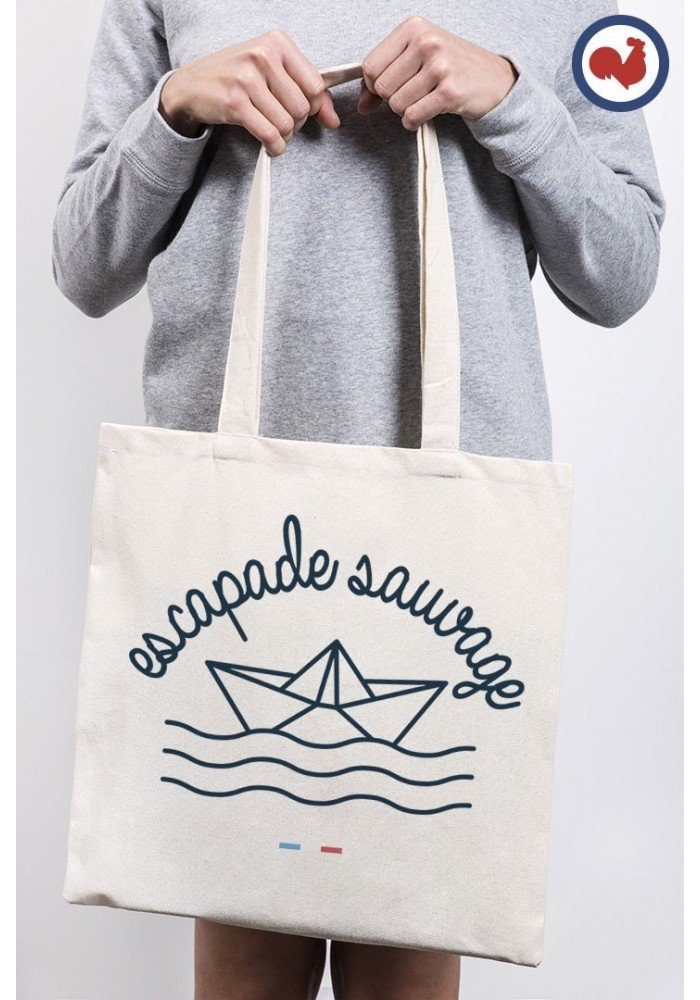Escapade sauvage Totebag Made in France