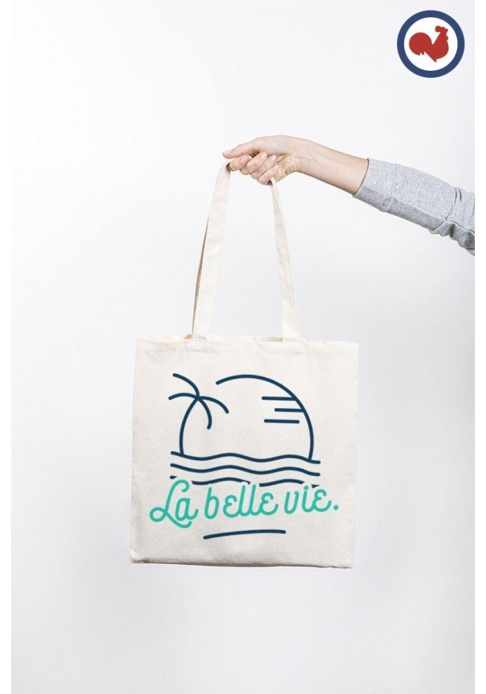 La belle vie Totebag Made in France
