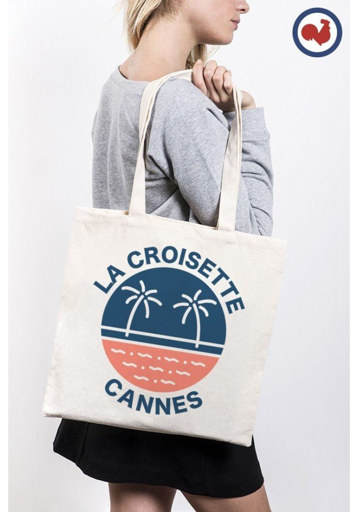 La croisette Cannes Totebag Made in France