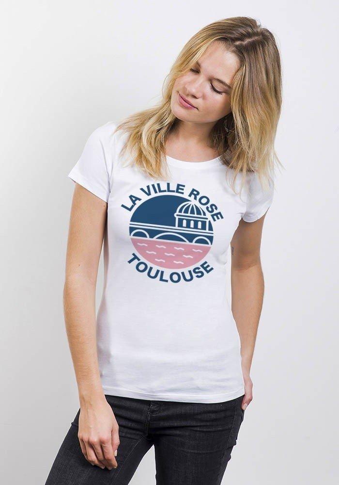 La ville rose Toulouse - T-shirt Femme