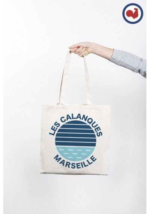 Les calanques Marseille - Totebag Made in France