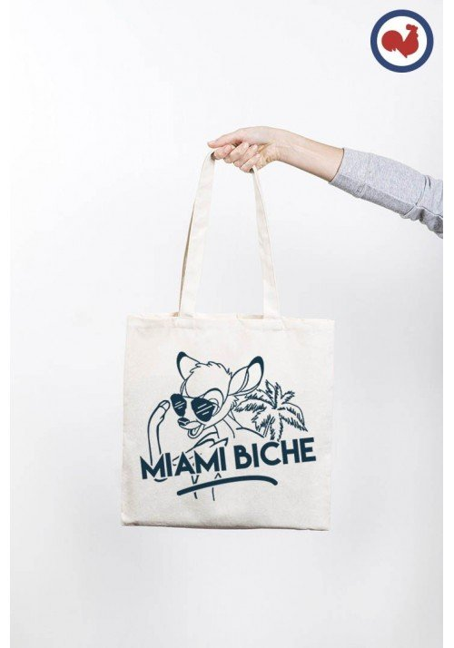 Miami biche Totebag Made in France
