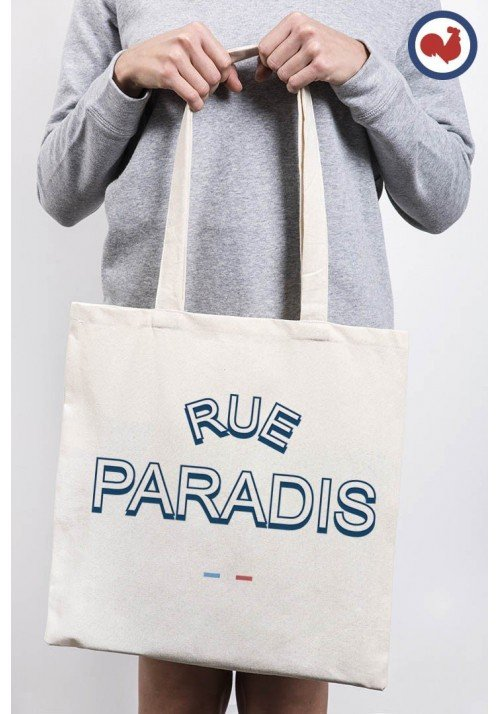 Rue Paradis Totebag Made in France
