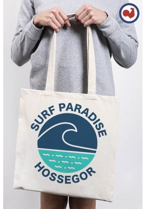 Surf paradise Hossegor Totebag Made in France