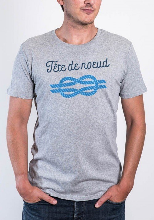 Tête de noeud Tee-shirt Homme