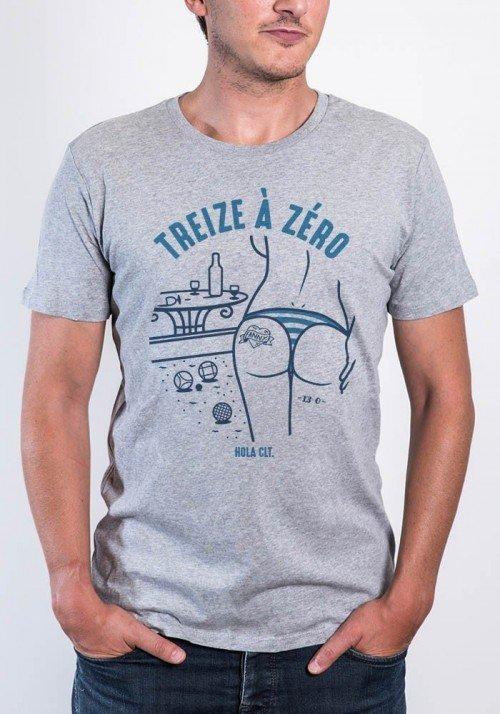 treize à zéro Tee-shirt Homme