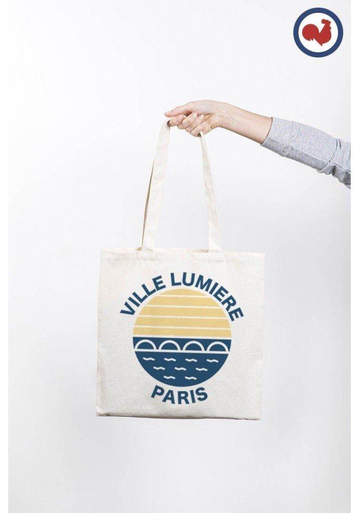 Ville lumière Paris Totebag Made in France