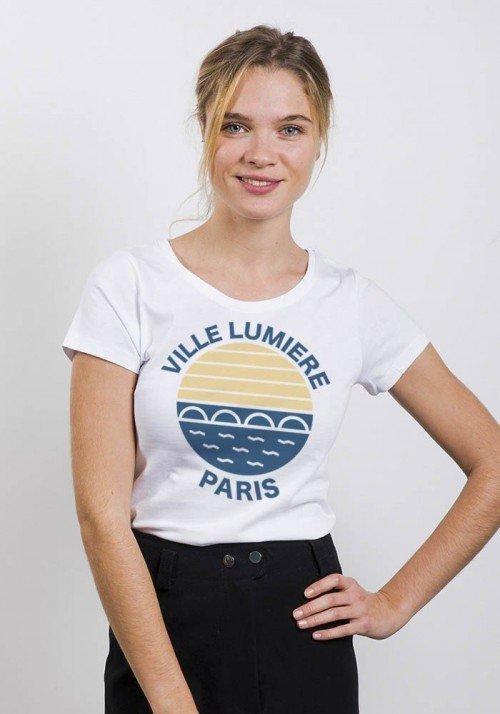 Ville lumière Paris - T-shirt Femme