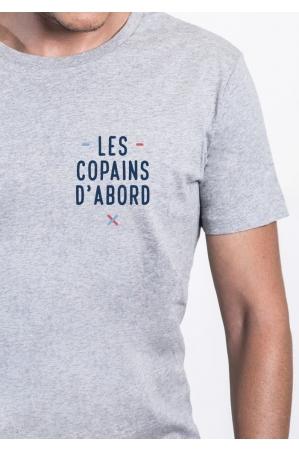 Les copains d'abord coeur - T-shirt Homme