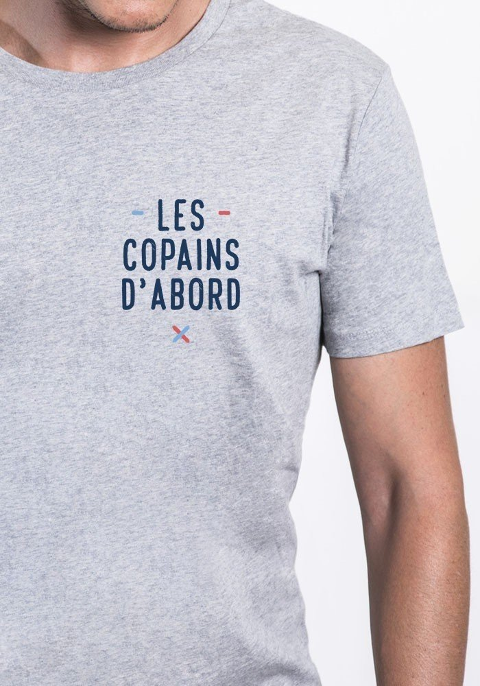 Les copains d'abord coeur Tee-shirt Homme
