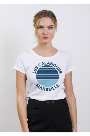 Les calanques Marseille - T-shirt Femme