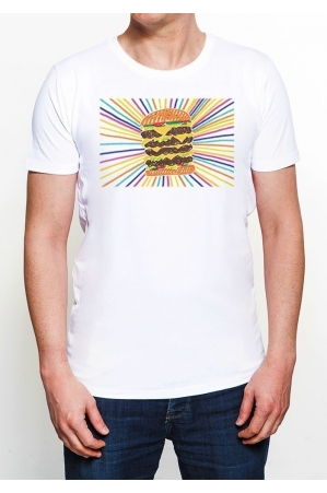 BURGER Tee-shirt Homme