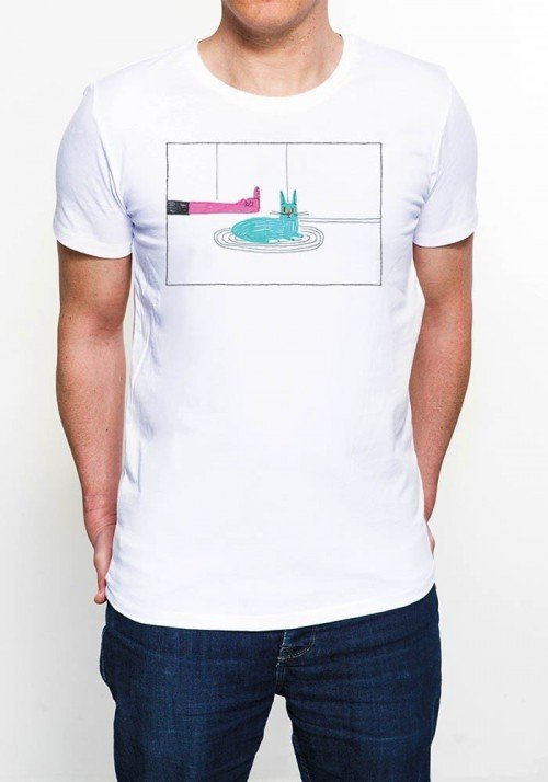 FUCK LE CHAT Tee-shirt Homme