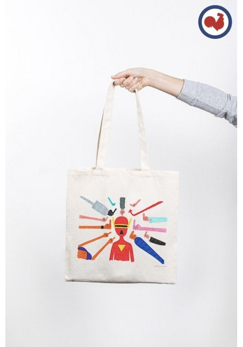 FUCK Totebag Made in France