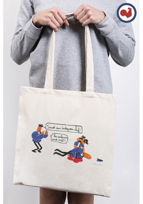 INSTAGRAM Totebag Made in France