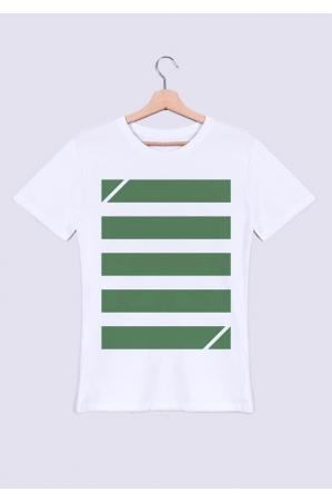 Bandes vertes - T-shirt Homme