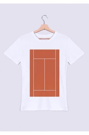 Terrain de tennis - T-shirt Homme