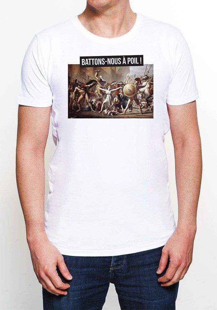 Battons-nous à poil- T-shirt Homme
