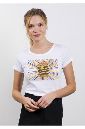BURGER Tee-shirt Femme