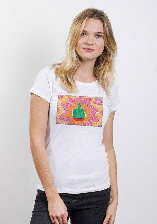 FUCK TORTUE NINJA Tee-shirt Femme