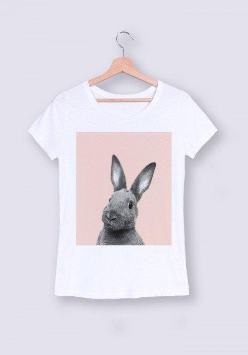 Lapin Tee-shirt Femme