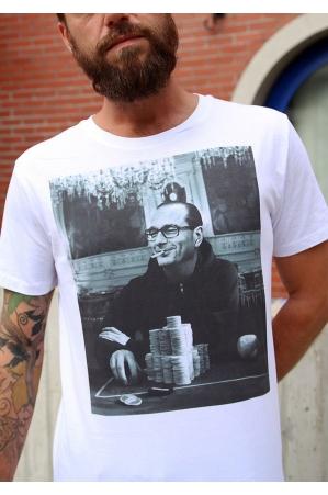 Gambling Chirac  T-shirt Homme Col Rond