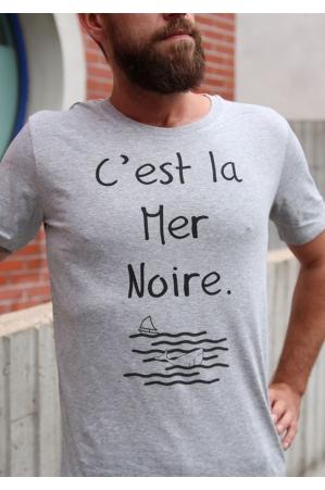 La mer Noire T-shirt Homme Col Rond