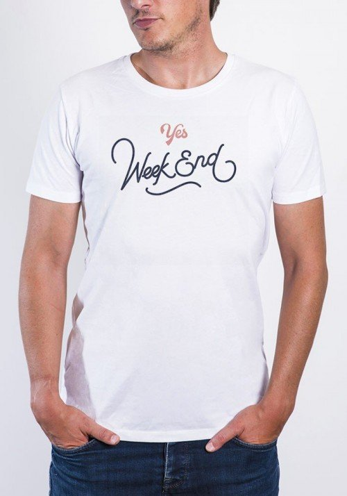 Yes week end - T-shirt Homme