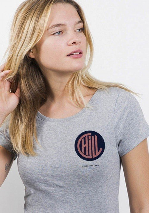 Chill coeur - T-shirt Femme