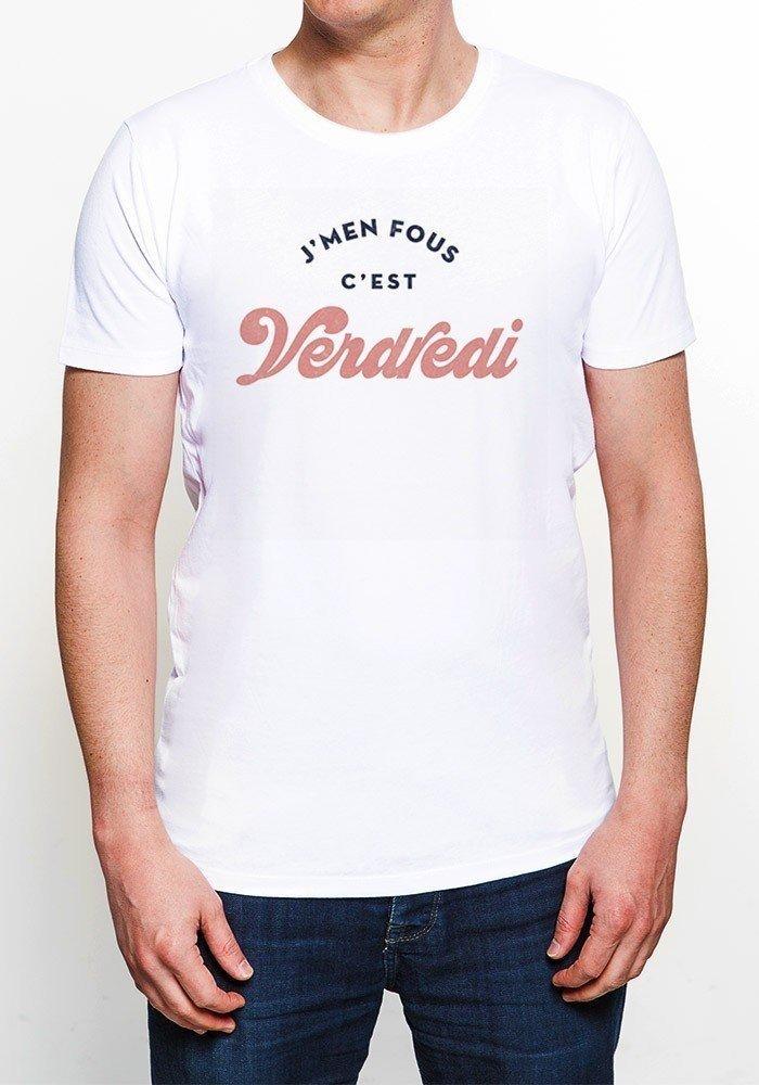 Je m'en fout c'est vendredi - T-shirt Homme