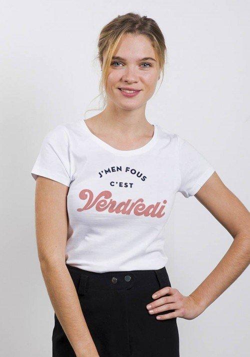 Je m'en fout c'est vendredi  - T-shirt Femme